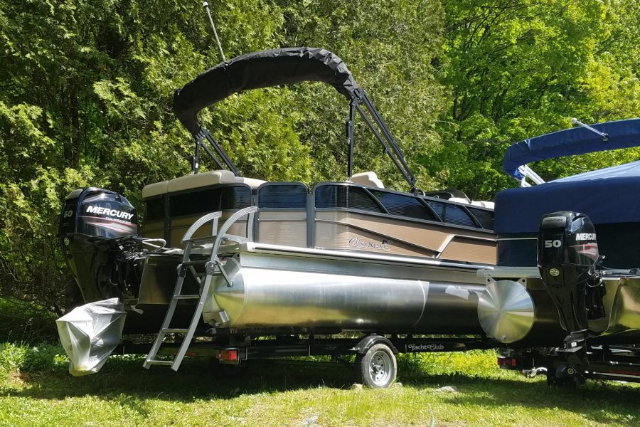 2019 Misty Harbor B2085CS w/ 60HP EFI Mercury
